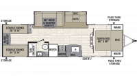 2019 Freedom Express Select 29SE Floor Plan
