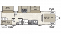 2019 Freedom Express Select 31SE Floor Plan