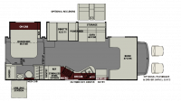 2019 Leprechaun 280BH FORD Floor Plan