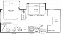 2019 Prism 2300DS Floor Plan