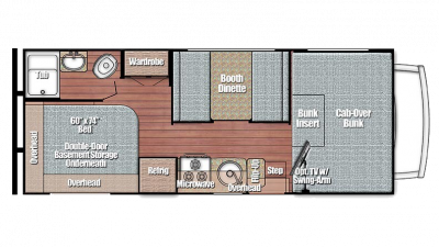 Conquest 6237LE Floor Plan - 2018