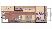 2020 Conquest 6256 Floor Plan