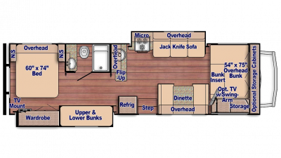 Conquest 63111 Floor Plan - 2018