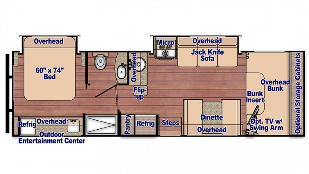 Conquest 6314 Floor Plan - 2018