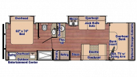 2020 Conquest 6314 Floor Plan