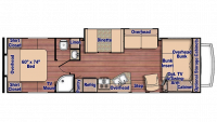 2020 Conquest 6316 Floor Plan