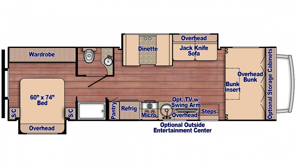 Conquest 6320 Floor Plan - 2018