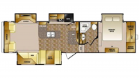 2011 Cruiser 325CK Floor Plan