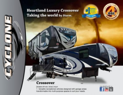 2017 Heartland Cyclone RV Brand Brochure Cover