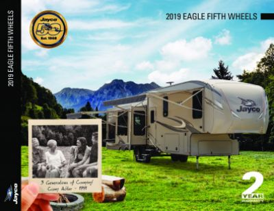 2019 Jayco Eagle HT RV Brochure Cover