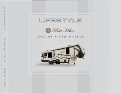 2016 Lifestyle Luxury Bay Hill RV Brand Brochure Cover