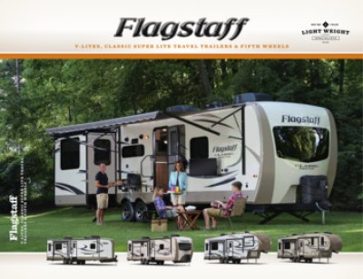 2017 Forest River Flagstaff Classic Super Lite RV Brand Brochure Cover