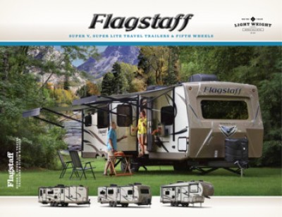 2017 Forest River Flagstaff Super Lite RV Brand Brochure Cover