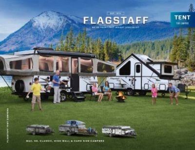 2019 Forest River Flagstaff Sports Enthusiast RV Brochure Cover