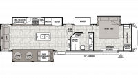2019 Cedar Creek 38CK2 Floor Plan