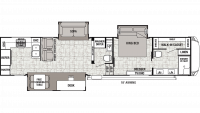2019 Cedar Creek 38DBRK Floor Plan