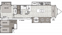 2019 Cedar Creek Cottage 40CL Floor Plan