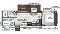 2019 Flagstaff Super Lite 27BHWS Floor Plan