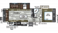 2019 Flagstaff Super Lite 528CKWS Floor Plan