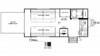 2019 Rockwood Geo Pro 16TH Floor Plan