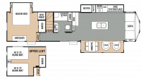 2018 Cedar Creek Cottage 40CL Floor Plan