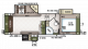2018 Flagstaff Super Lite 526KSWS Floor Plan
