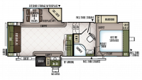 2019 Flagstaff Super Lite 526KSWS Floor Plan