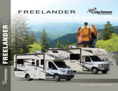 2018 Coachmen Freelander RV Brand Brochure Cover