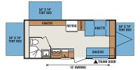 2014 Sportsmen 20RBT Floor Plan