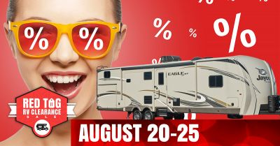 Red Tag RV Clearance