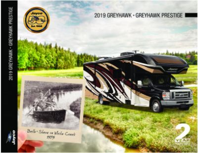 2019 Jayco Greyhawk RV Brochure Cover