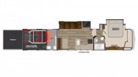 2018 Cyclone 4007 Floor Plan