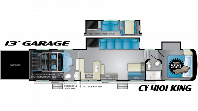 2019 Cyclone 4101 Floor Plan Img