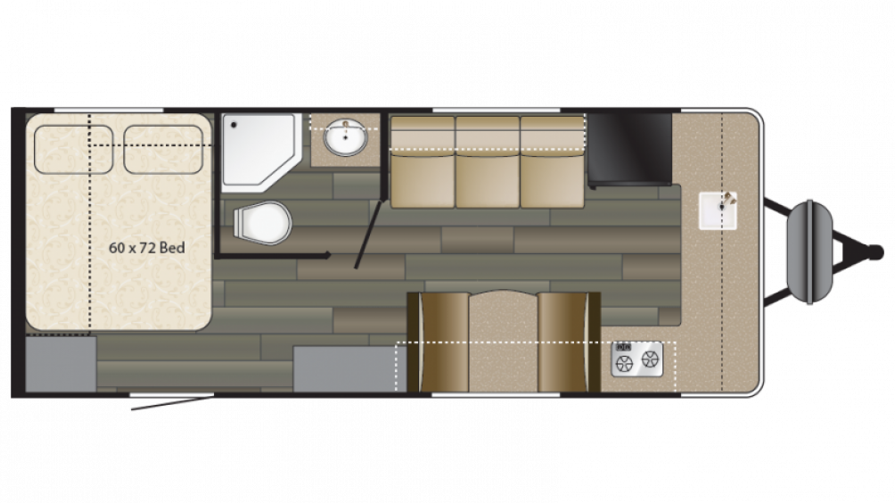 2018 Terry Classic V22 Floor Plan Img