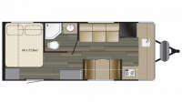 2019 Terry Classic V22 Floor Plan