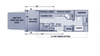 2005 Talon 24E Floor Plan