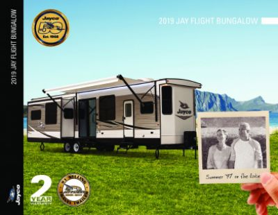 2019 Jayco Jay Flight Bungalow RV Brochure Cover