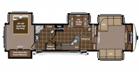 2010 Montana 3750FL Floor Plan