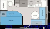 2012 Jay Feather Select 165 Floor Plan