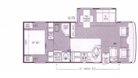 1999 Mountain Aire 3758 Floor Plan