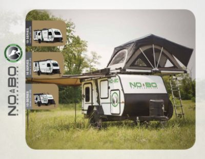 2019 Forest River No Boundaries RV Brochure Cover