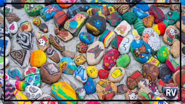 Paint Rocks And Hide Them