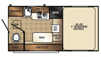 2017 Palomino HS800 Floor Plan