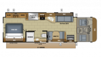 2018 Precept 29V Floor Plan