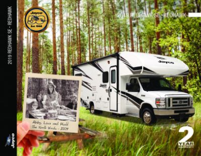 2019 Jayco Redhawk RV Brochure Cover