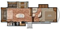 2016 Reflection 29RS Floor Plan