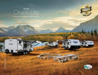 2017 Forest River Salem Cruise Lite RV Brand Brochure Cover