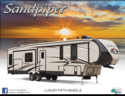 2017 Forest River Sandpiper RV Brand Brochure Cover