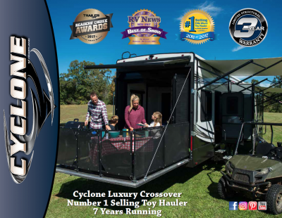 2019 Heartland Cyclone RV Brochure Cover