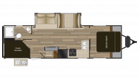 2018 Shadow Cruiser 277BHS Floor Plan